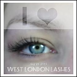 BEST LASHES WEST LONDON individual extensions
