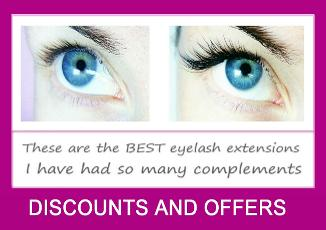Silk eyelash extensions West london lashes