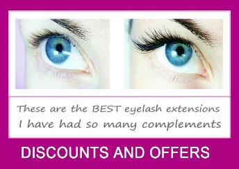 Individual extensions West London Lashes