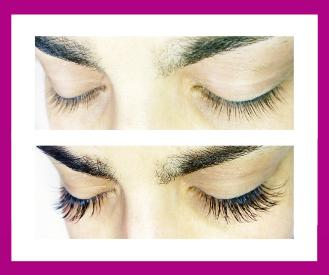WEST LONDON LASHES silk extensions