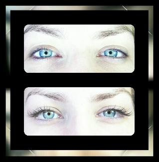 Individual semi-permanent lashes