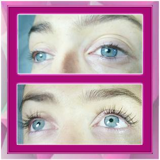 Xtreme Lashes London Before and After