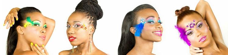TEEN PARTY LONDON CARNIVAL MAKE UP IDEAS