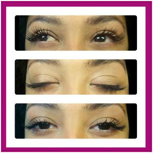 West London Lashes mink eyelash extensions