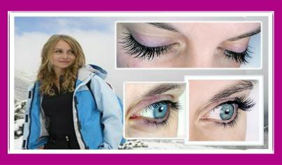 Beautiful waterproof extensions West London Lashes