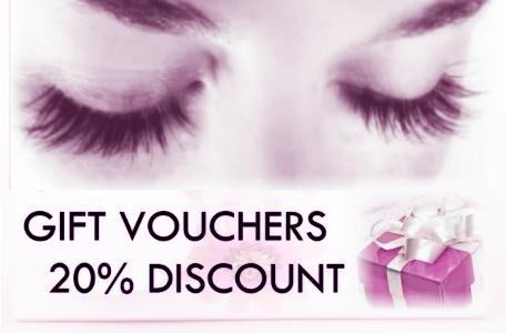 Gift eyelash extensions discount lashes