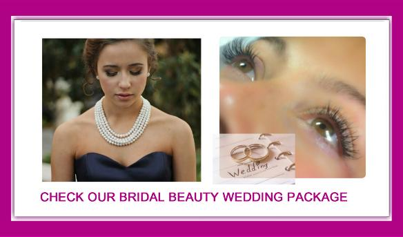 West London Lashes bridal wedding beauty