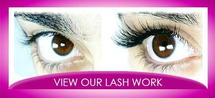 West London Lashes individual extensions results