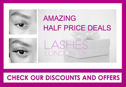 West London Lashes DISCOUNT OFFERS