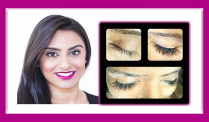 West London Lashes individual silk extensions